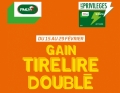 Carte MyPMU : gain Tirelire doublé !